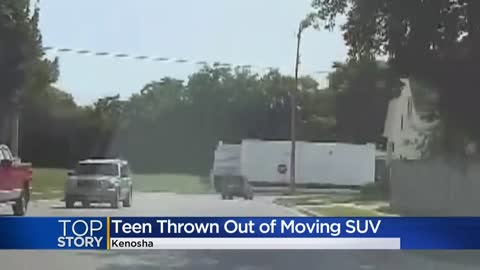 Girl says teen pushed her out of moving SUV during Kenosha County...
